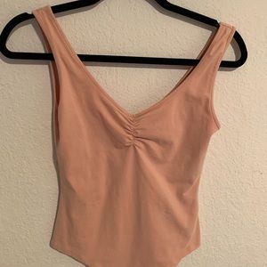 F21 Blush Pink Bodysuit